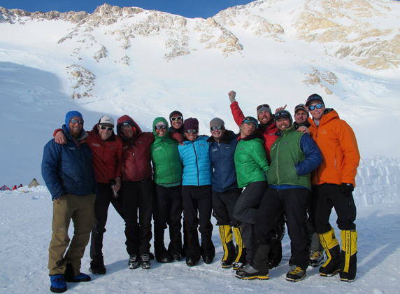 Some of the MT 2011 Denali guides
