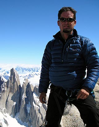 Jacob in Patagonia