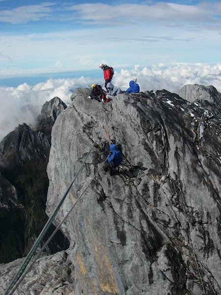 The Tyrolean Traverse