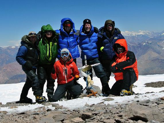 Aconcagua summit photo