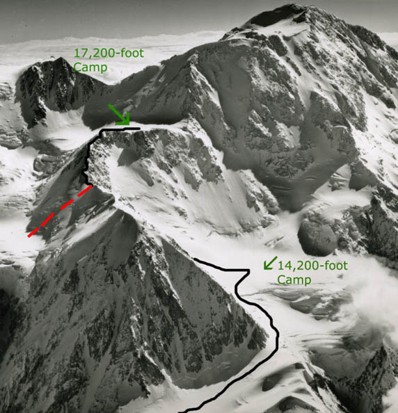 an accident on denali