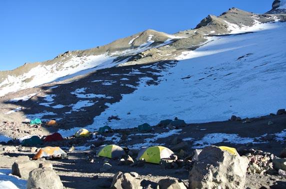 Camp 2 on Aconcagua