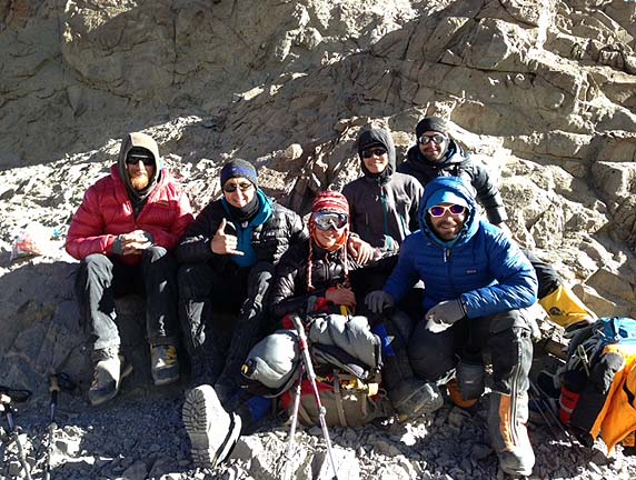 Aconcagua Dec 23 at White Rocks