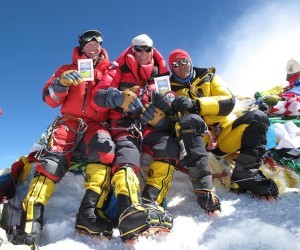 Everest Summit Climbers