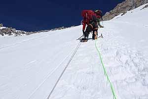 Climber on the Headwall_2