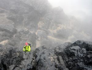 Climbers on Carstensz