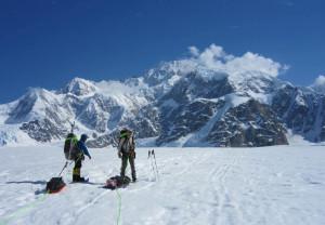 Climb Denali - Guides on the Kahiltna Glacier