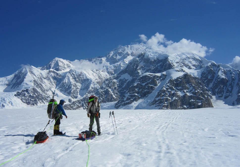Denali Guides on the Kahiltna Glacier