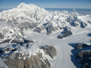Climb Denali - Aerial View
