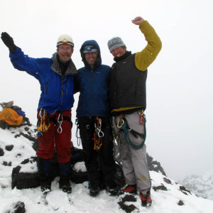 Snowy Summit Carstensz Pyramid
