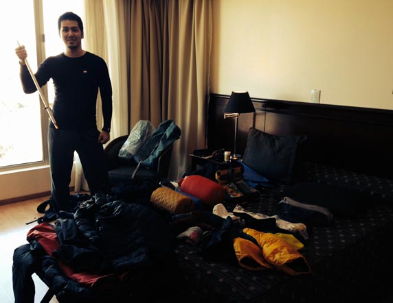 Aconcagua expedition gear check