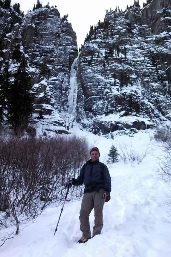 Colorodo ice climbing