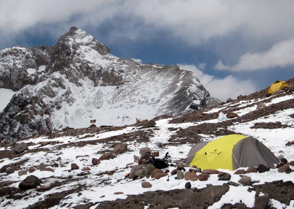 Camp 2 on Aconcagua