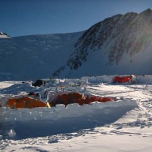 Denali high camp