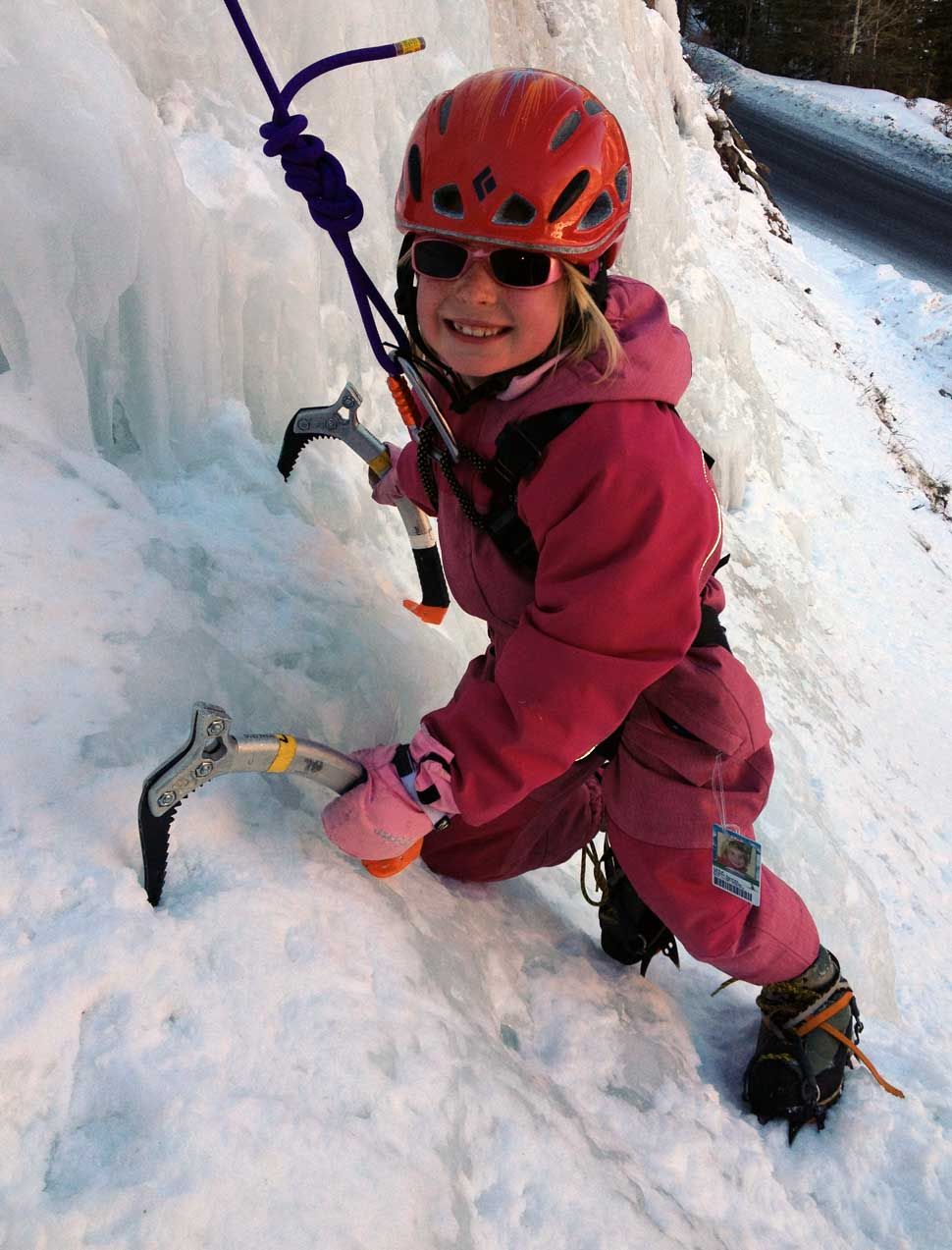 Ice Climbs in Telluride and Ouray Colorado Mountain Trip