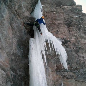Mixed climbing: ice and rock