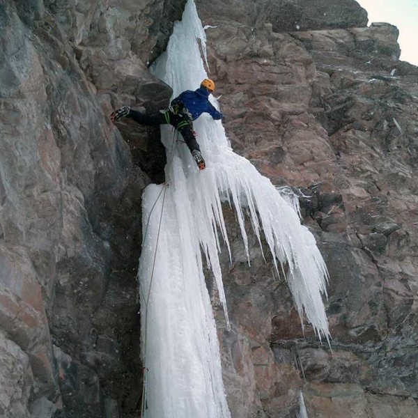 Mixed climbing: ice and rock
