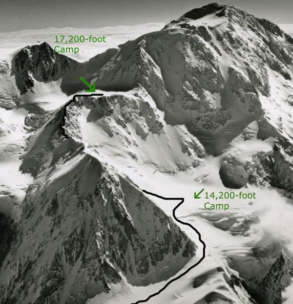 Denali route map