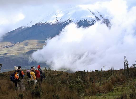 Ecuador volcano expedition
