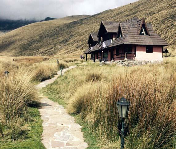 Chimborazo hut