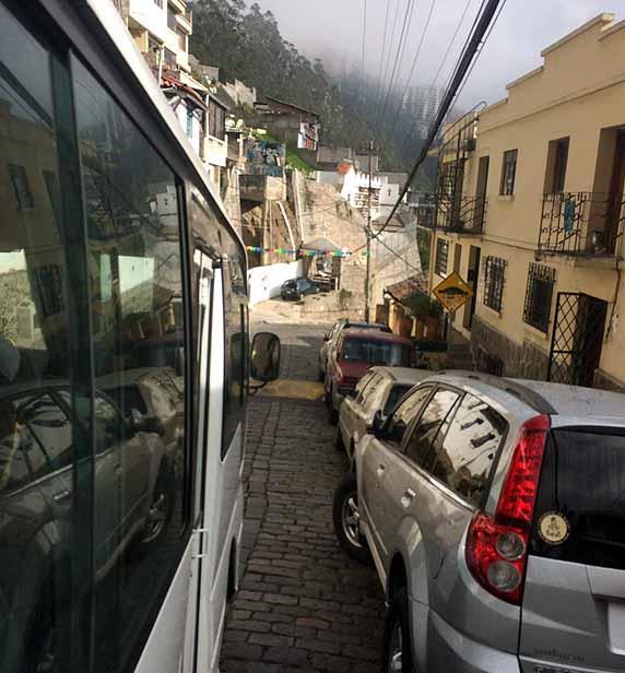 Ecuadorian streets