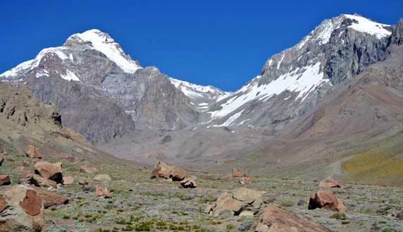 aconcagua relinchos valley