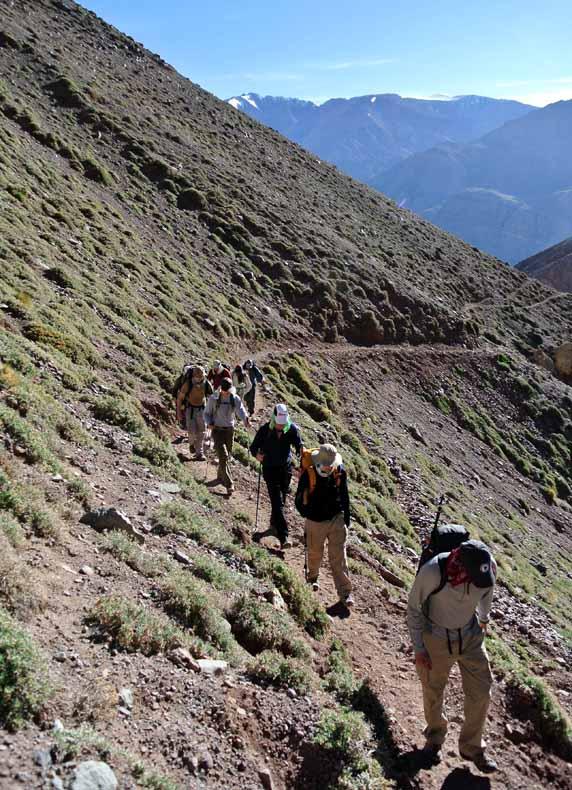 aconcagua hiking to bc