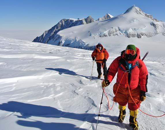 Vinson summit day