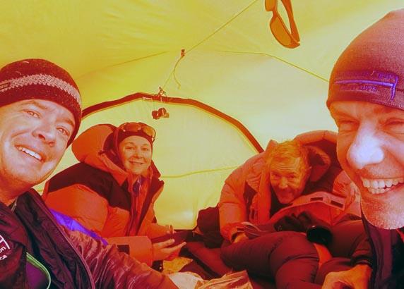 Vinson tent