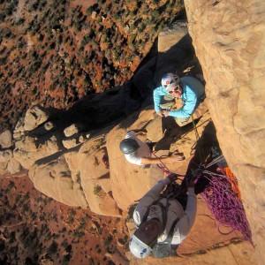 desert rock climbing