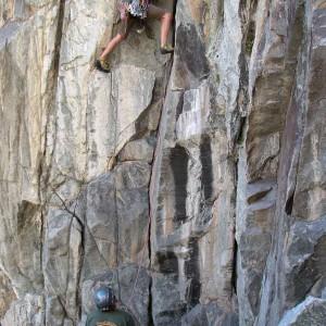 Telluride rock climbing