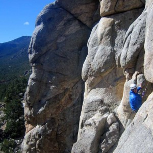 guided rock climbing in Telluride