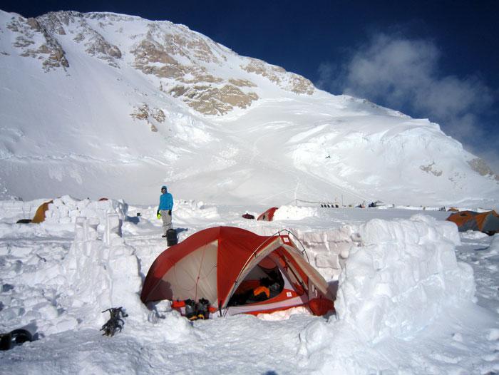14,200 Camp on Denali