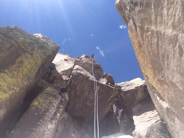 Dallas Peak rappel