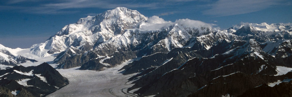 denali and kahiltna glacier