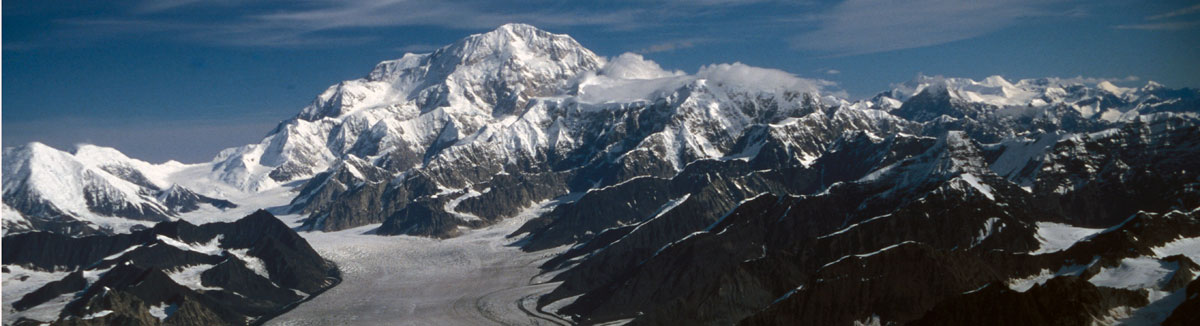 denali and kahiltna glacier