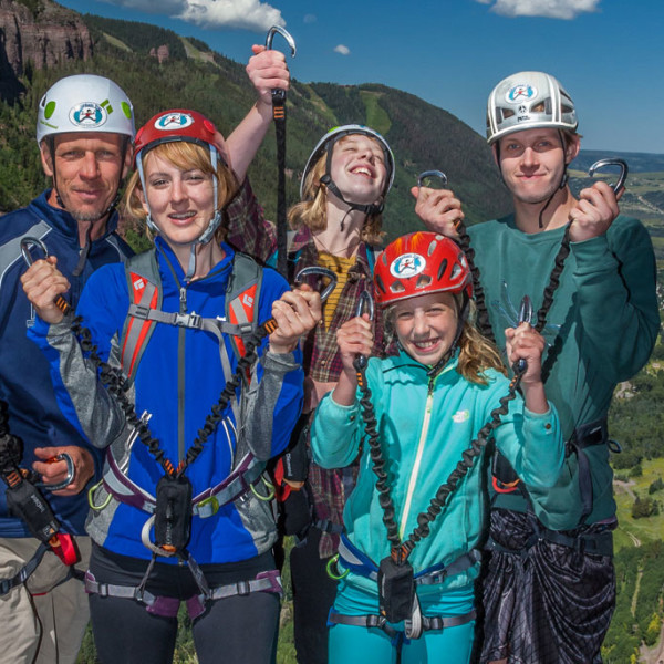 Telluride Via Ferrata family
