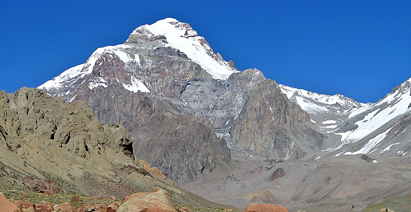 Aconcagua from Relinchos