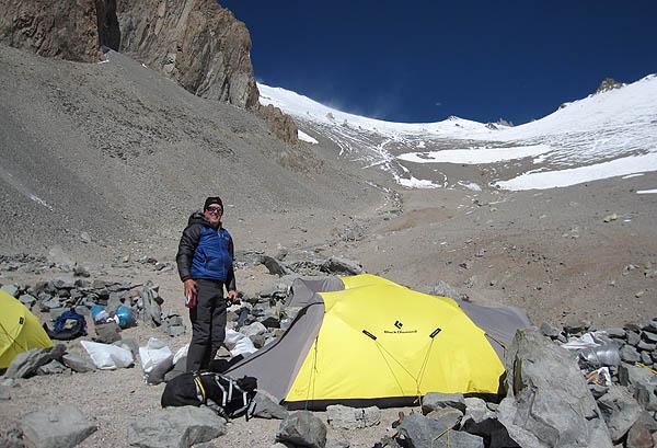 Aconcagua Camp 1
