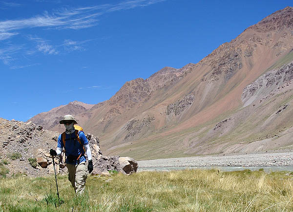 Aconcagua hiking to CdP