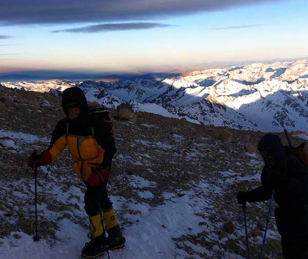 Aconcagua trail to WR