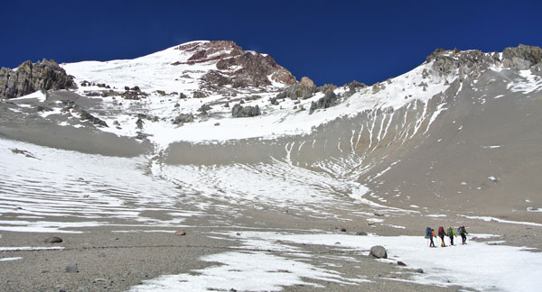 Aconcagua-hiking-in-valley-to-C2