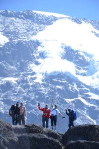 Kilimanjaro Snows and climbers