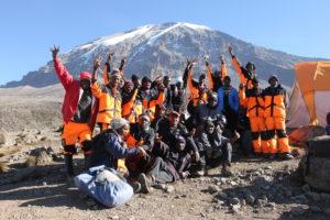 Kilimanjaro Porter Team