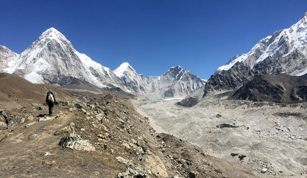 khumbu glacier nepal