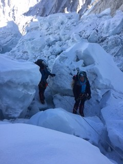 greg and van in icefall