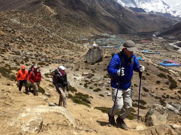 Nepal trek Everest Base Camp