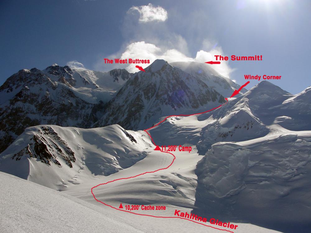 Denali WB route 10K to 13.5K