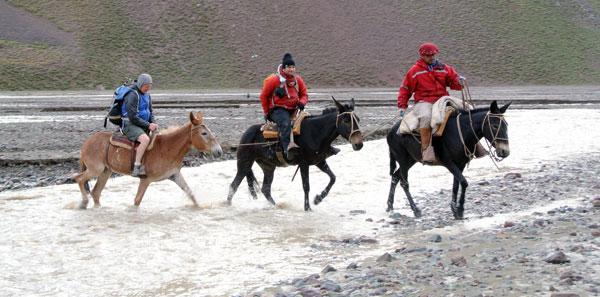 aconcagua river crossing