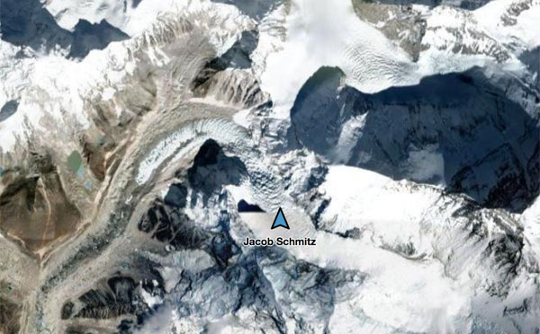 2017 everest camp 1 location